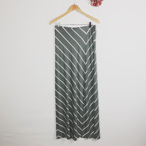 [TOMMY BAHAMA] Stretchy Striped Maxi Skirt
